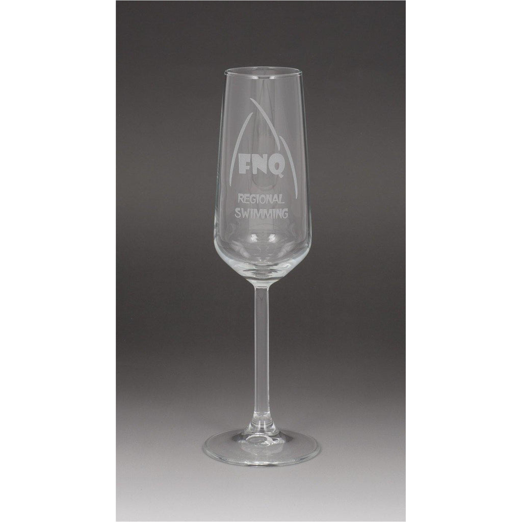 Champagne Flute Glass - 195ml - The Trophy Superstore