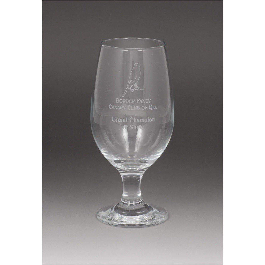 Beer Glass - 370ml - The Trophy Superstore