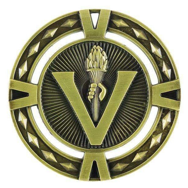 Orbital Series Victory Medals available in three colours - The Trophy Superstore