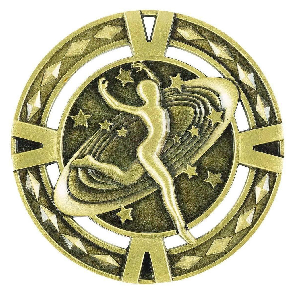 Orbital Series Dance Medals available in three colours freeshipping - The Trophy Superstore