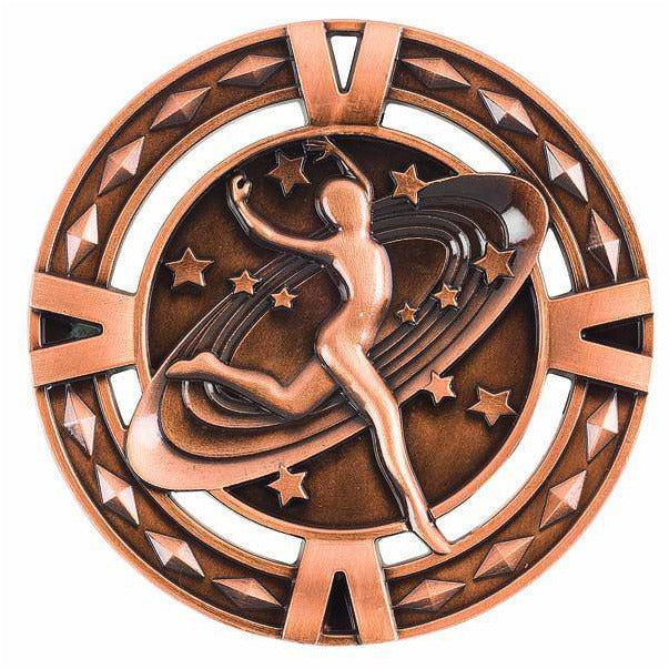Orbital Series Dance Medals available in three colours - The Trophy Superstore