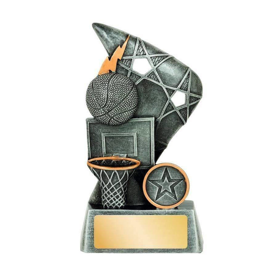 Reno Series Basketball Trophy available in three sizes - The Trophy Superstore