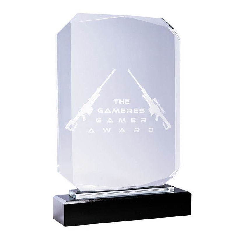 King Crystal Rectangle Award