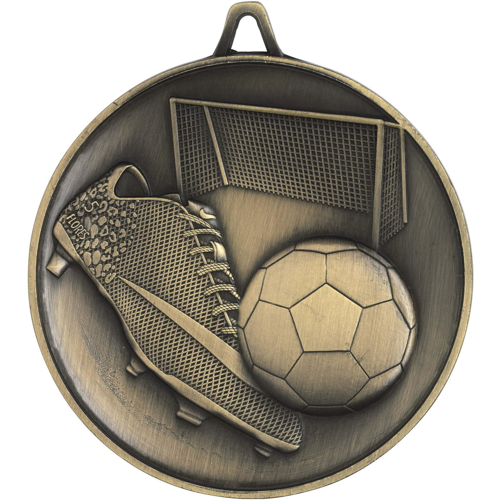 Budget Heavyweight Footy Medal freeshipping - The Trophy Superstore