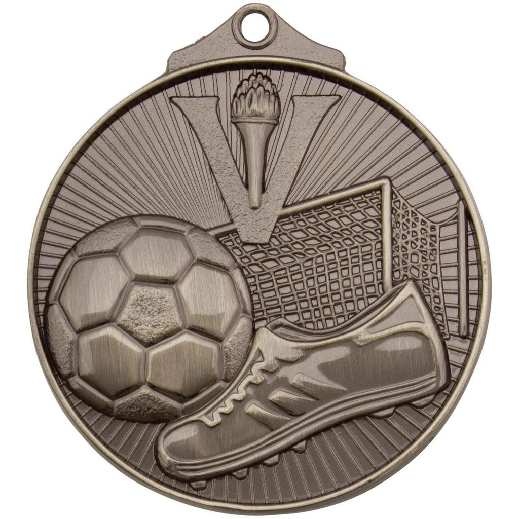 Football Net Series Medal available in three colours - The Trophy Superstore