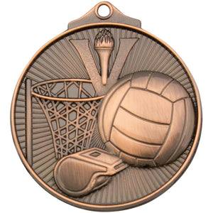 Sunraysia Series Netball Medal freeshipping - The Trophy Superstore