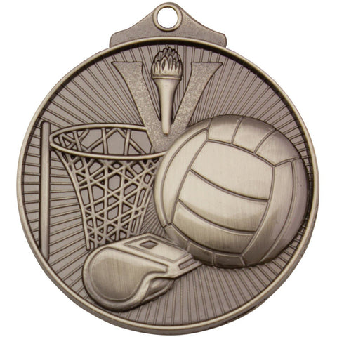Image of Sunraysia Series Netball Medal freeshipping - The Trophy Superstore