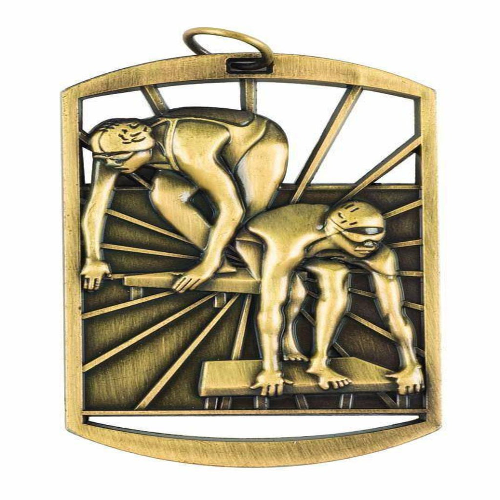 'It's Go Time' Swimming Medals