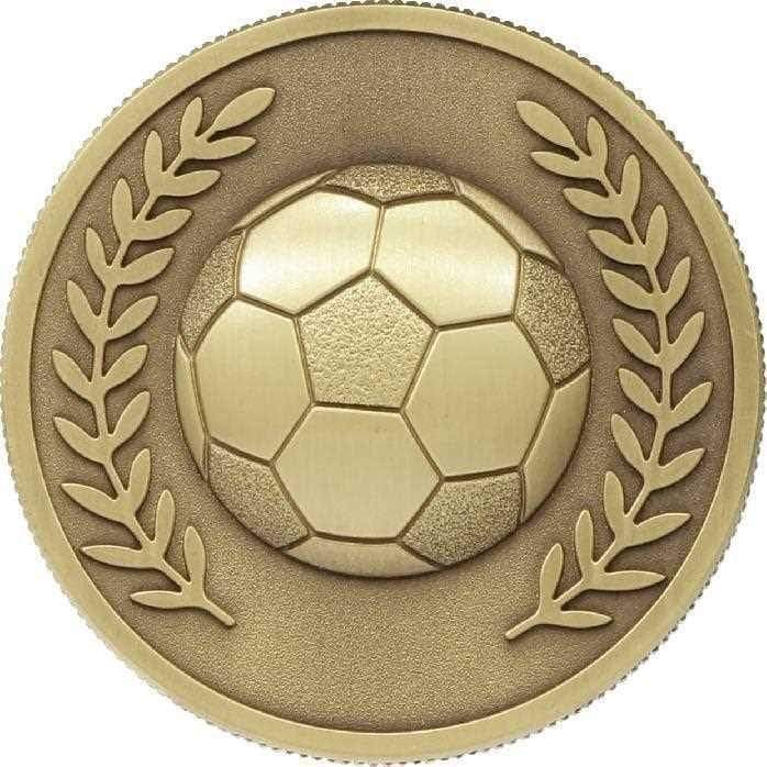Gold Prestigious Football Medal only available in Gold - The Trophy Superstore