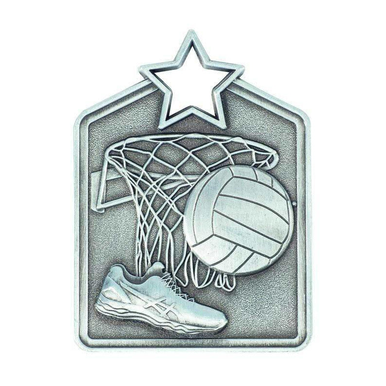 Triumph Netball Medal freeshipping - The Trophy Superstore