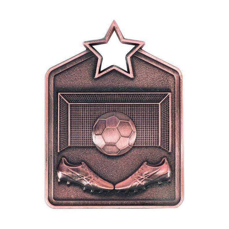 Triumph Football Medals freeshipping - The Trophy Superstore
