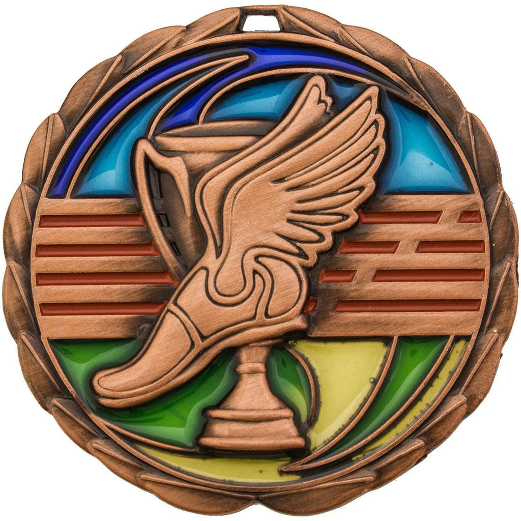 Stained Glass Athletics Medals
