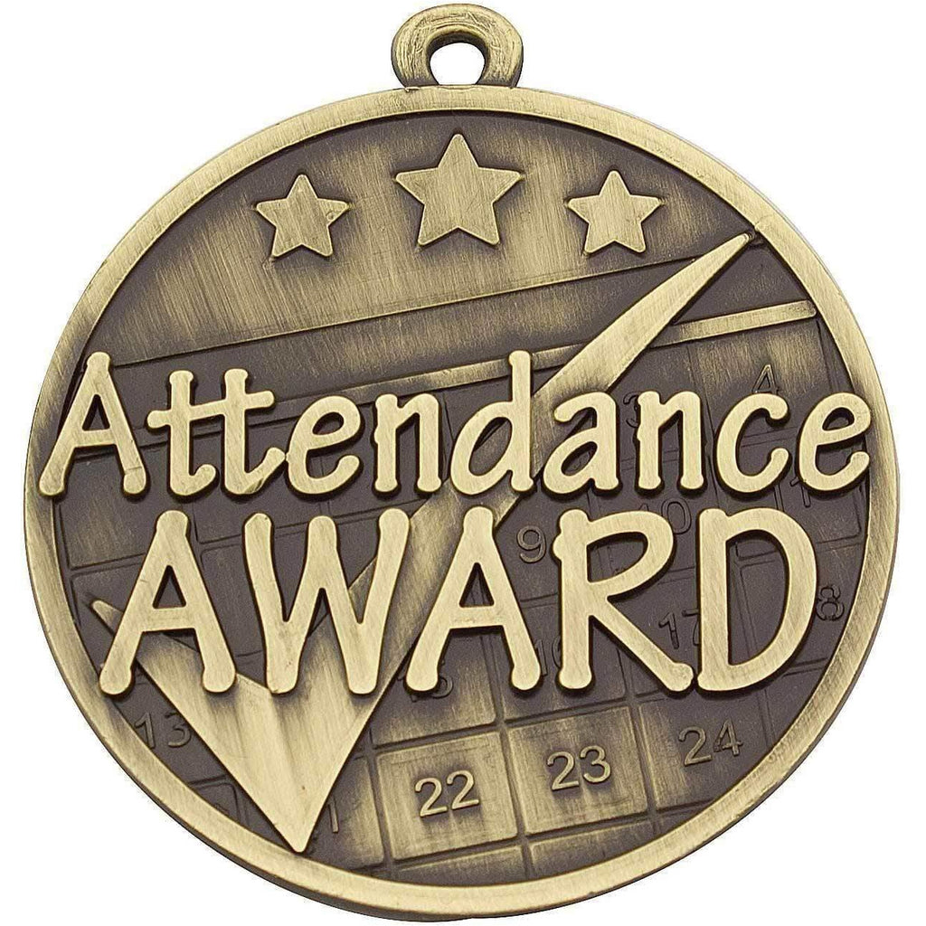 Attendance Dance Medal - 50mm - The Trophy Superstore