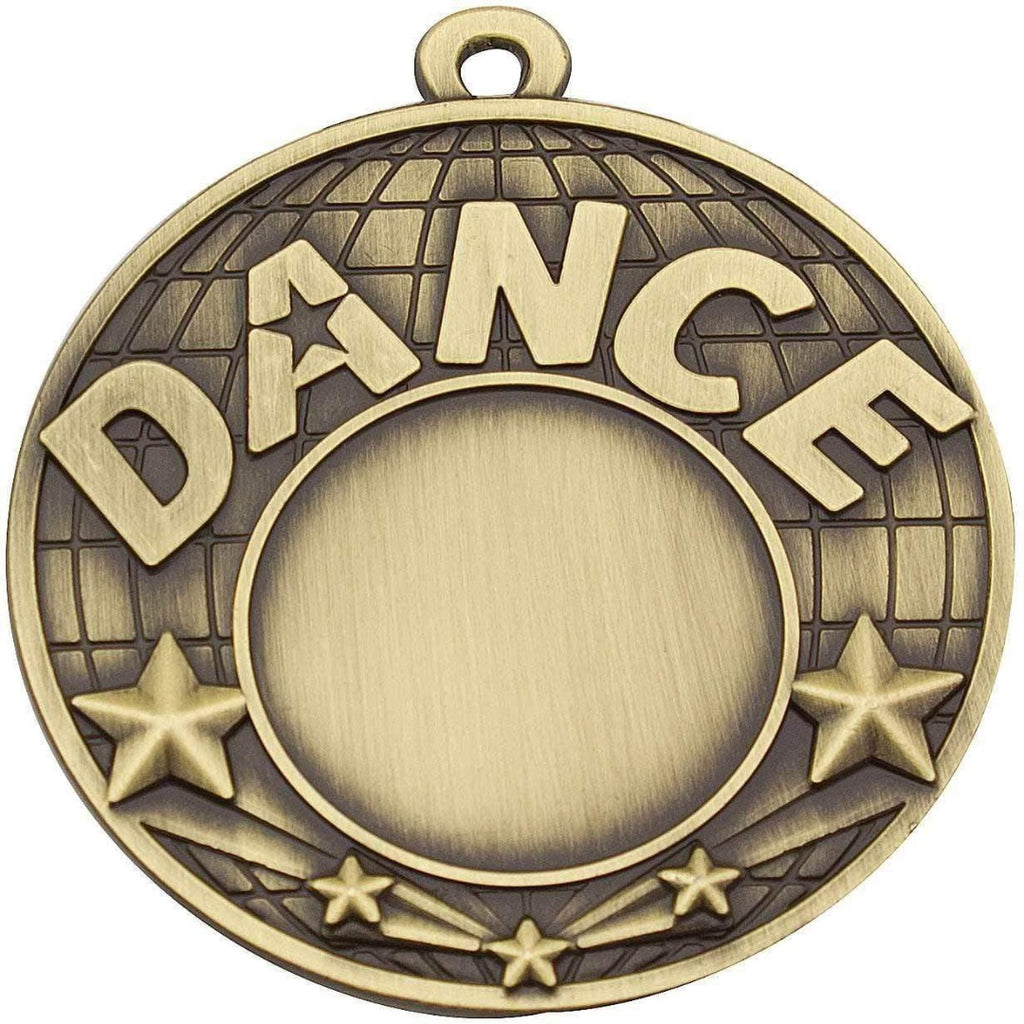 'Dance' Medal - 50mm - The Trophy Superstore