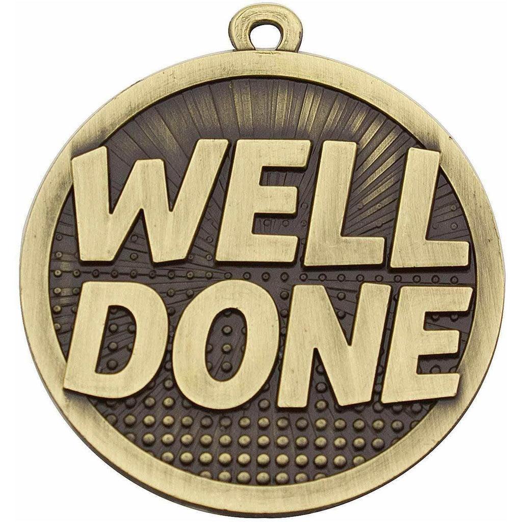 Well Done Medal freeshipping - The Trophy Superstore