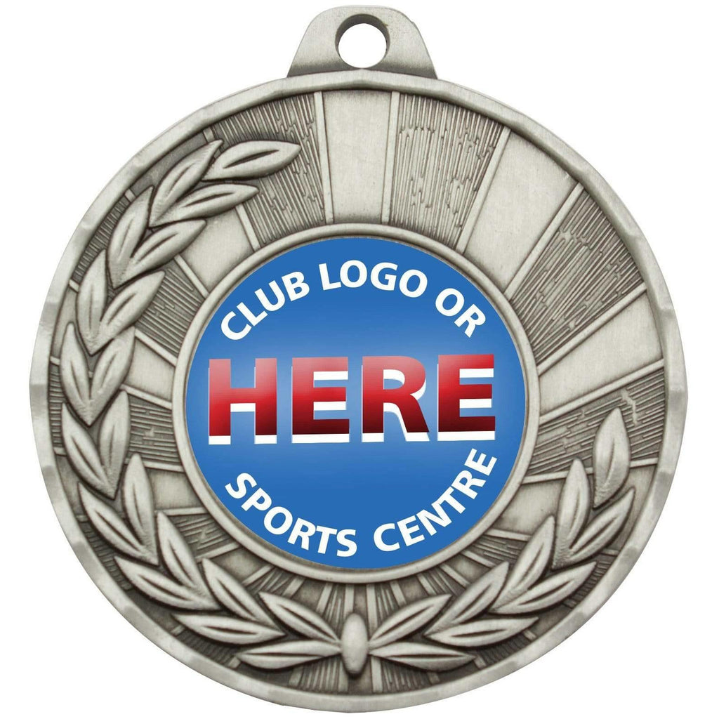 AFL Wreath Series Medals, available in three colours - The Trophy Superstore