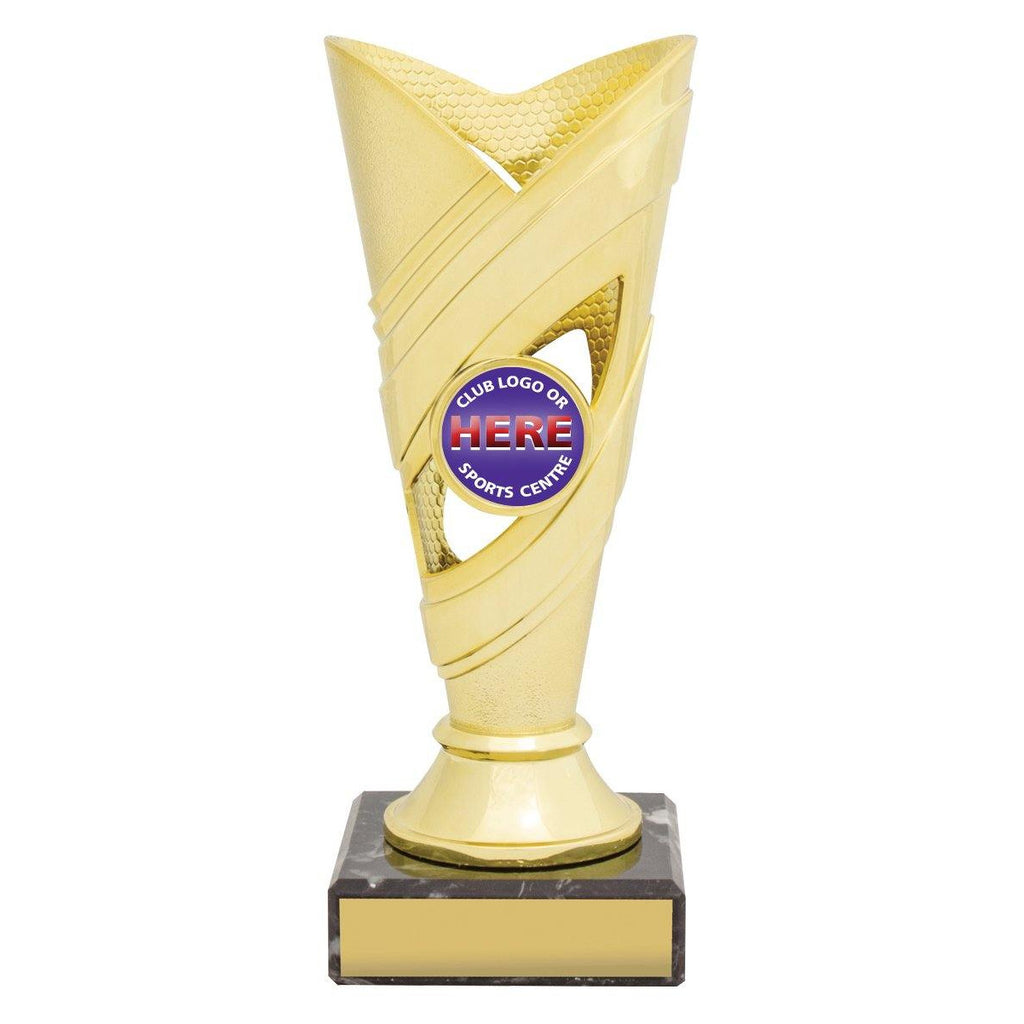 Curve Gold/Silver Cups freeshipping - The Trophy Superstore