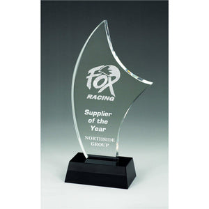 Tropez Crystal Award freeshipping - The Trophy Superstore