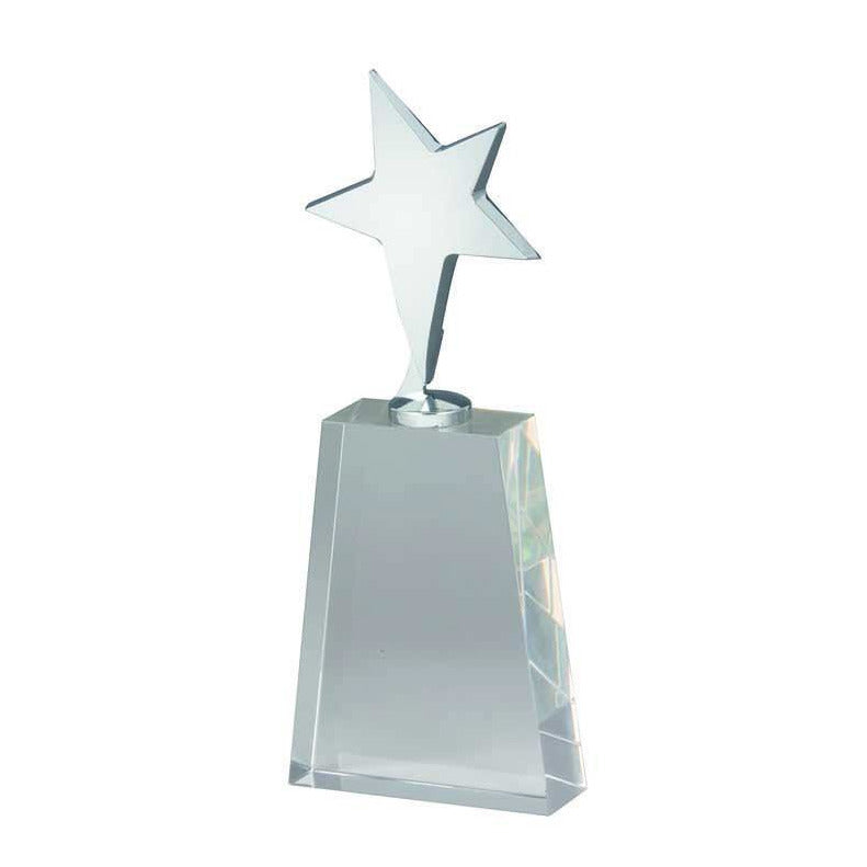 Maximus Crystal Award freeshipping - The Trophy Superstore