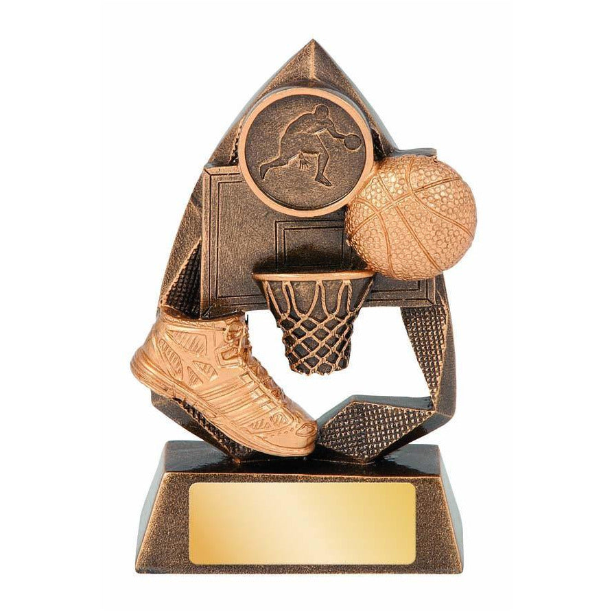 Jewel Series Basketball Trophy available in three sizes - The Trophy Superstore