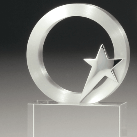 Eclipse Star Crystal Award freeshipping - The Trophy Superstore