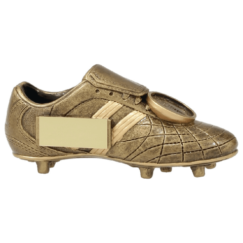Gold Resin Boot Trophy freeshipping - The Trophy Superstore