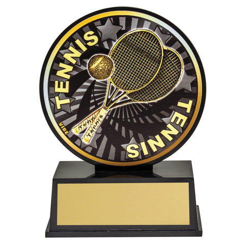 Tennis Vibe Trophy available in only one size freeshipping - The Trophy Superstore