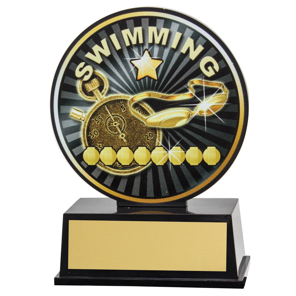 Swimming Vibe Trophy available in only one size - The Trophy Superstore