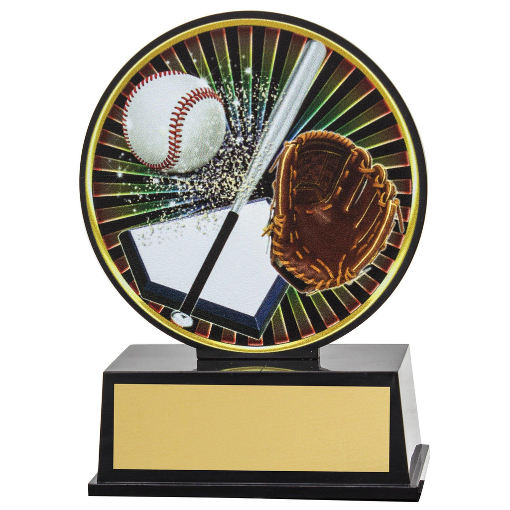 Baseball Vibe Trophy available in only one size - The Trophy Superstore