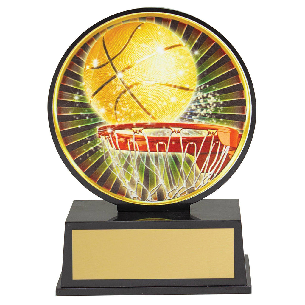 Basketball Vibe Trophy available in only one size - The Trophy Superstore