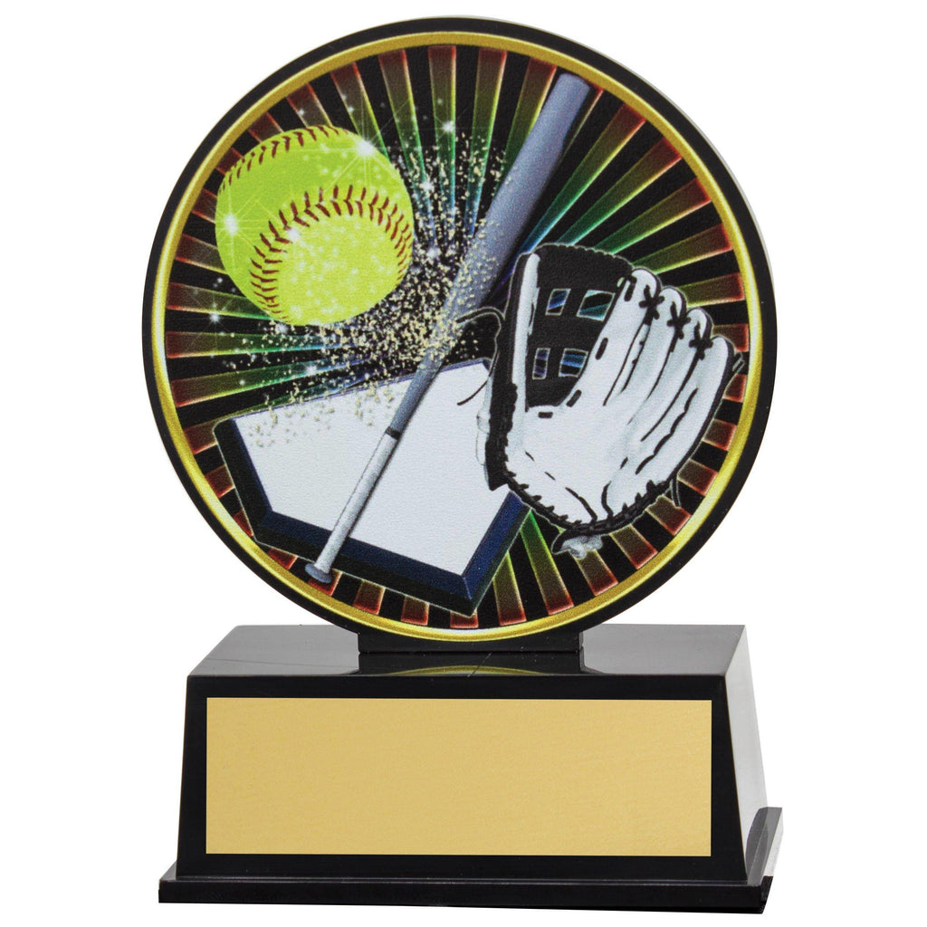 Softball Vibe Trophy available in only one size - The Trophy Superstore