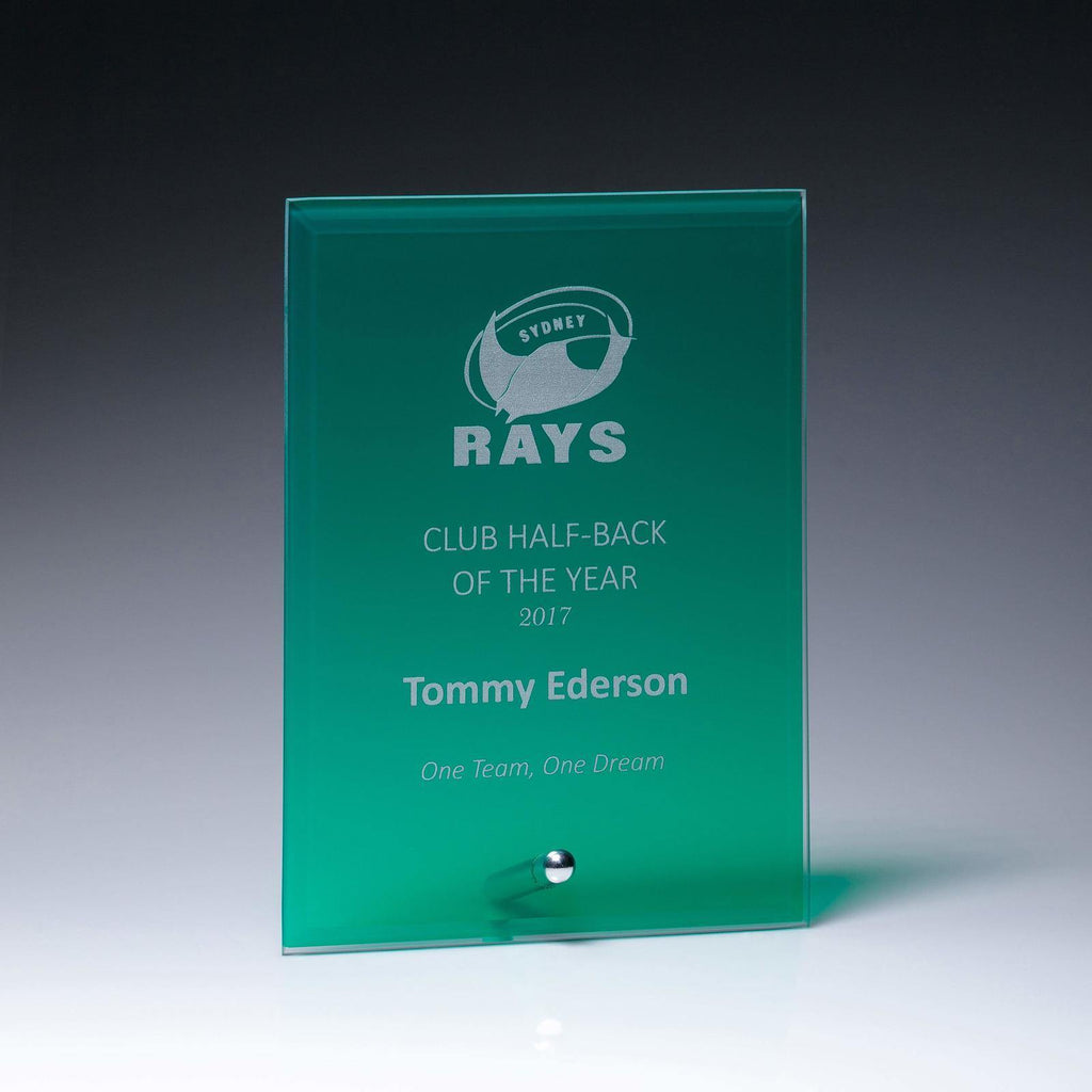 Craft Plaque Green - 150mm - The Trophy Superstore