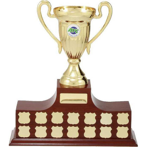 Podium Perpetual Trophy freeshipping - The Trophy Superstore