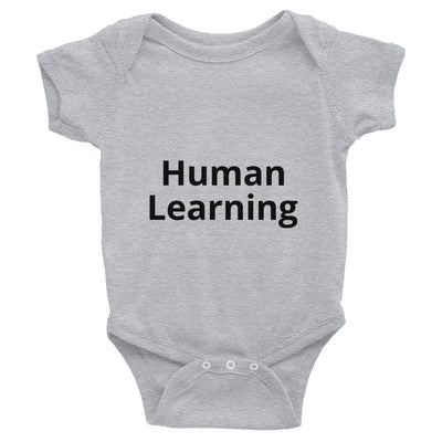 human learning infant bodysuit onesies nerdy data science machine learning AI