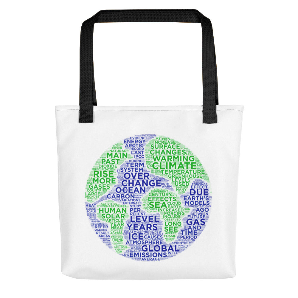 climate change nerdy tote bag data science machine learning AI
