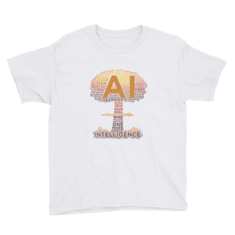 Evil AI Youth T-Shirt