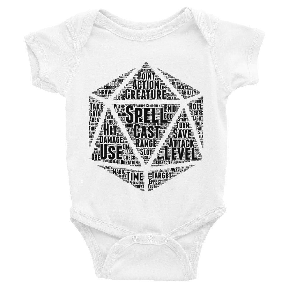 Dungeons and Dragons Infant Bodysuit