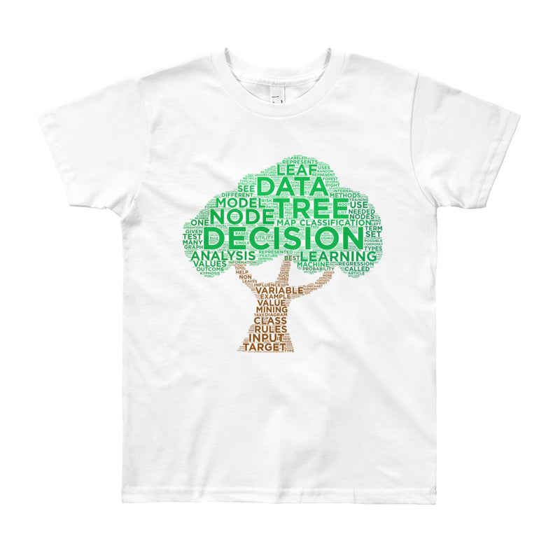 Decision Tree Youth T-Shirt