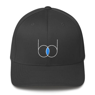becausedata Logo Fitted Hat