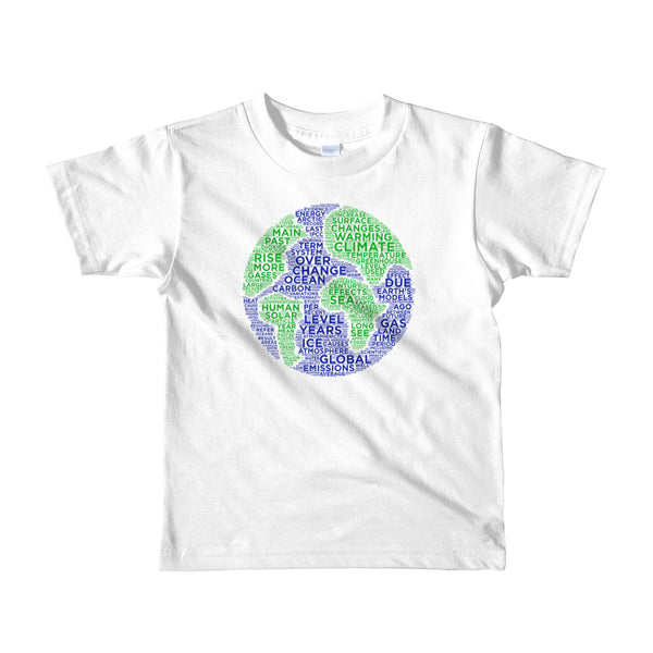 Climate Change kids T-shirt