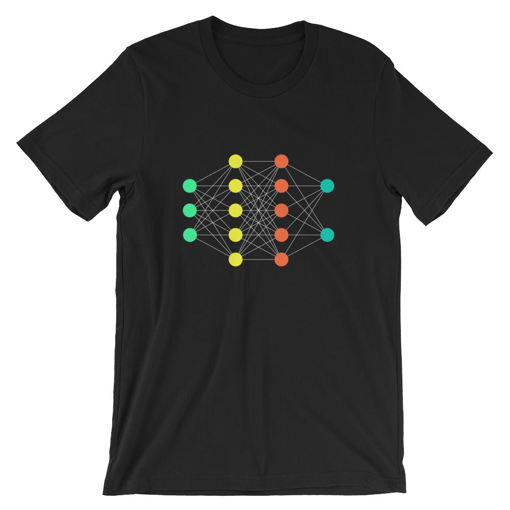 neural network nerdy shirt data science machine learning AI