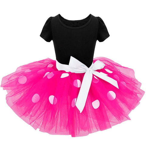 Anna Polkadot Tutu Dress