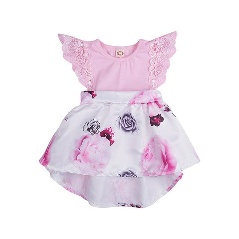 Alexa Infant Romper Dress
