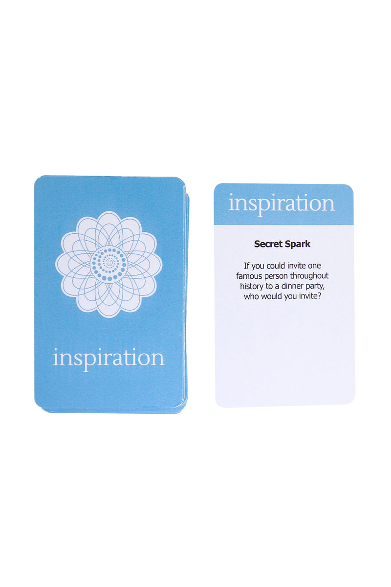 Sparked Board Game, Inspiration Card