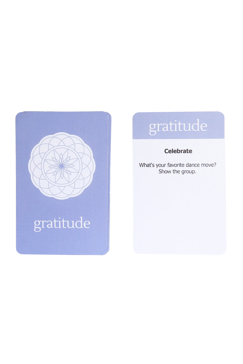 Sparked Board Game, Gratitude Card