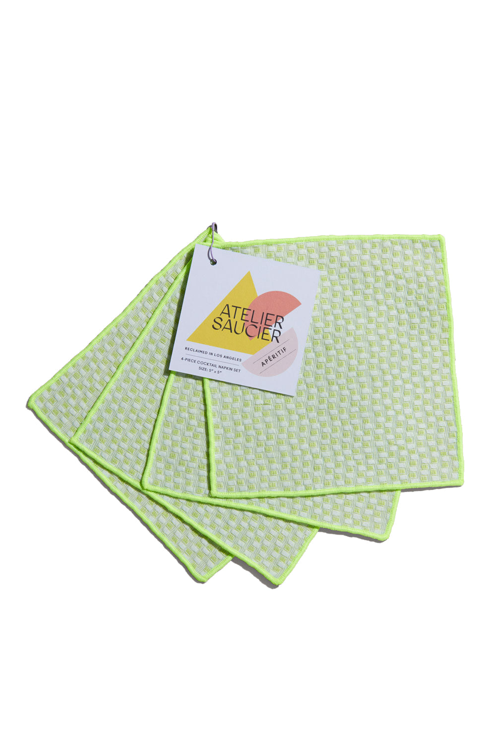 Electric Weave Cocktail Napkins