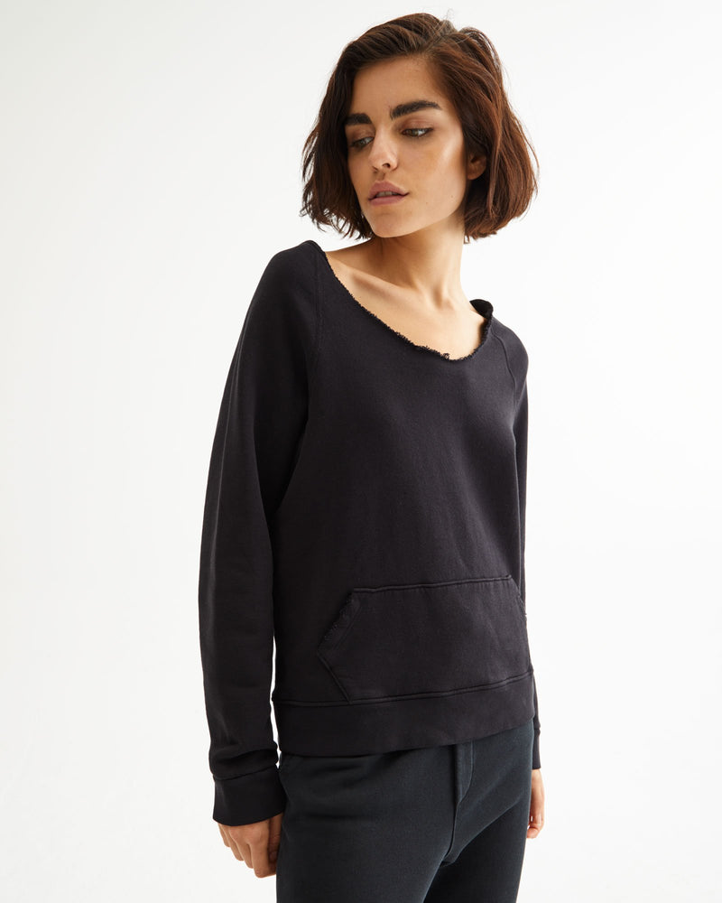 Tiara V Neck Sweatshirt
