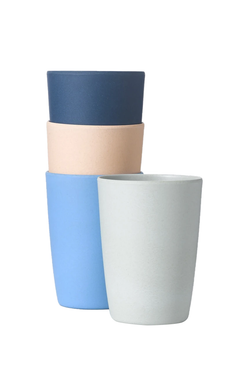 Set of 4 Assorted 12oz Cups: Mixed Pack Four | Fable NY