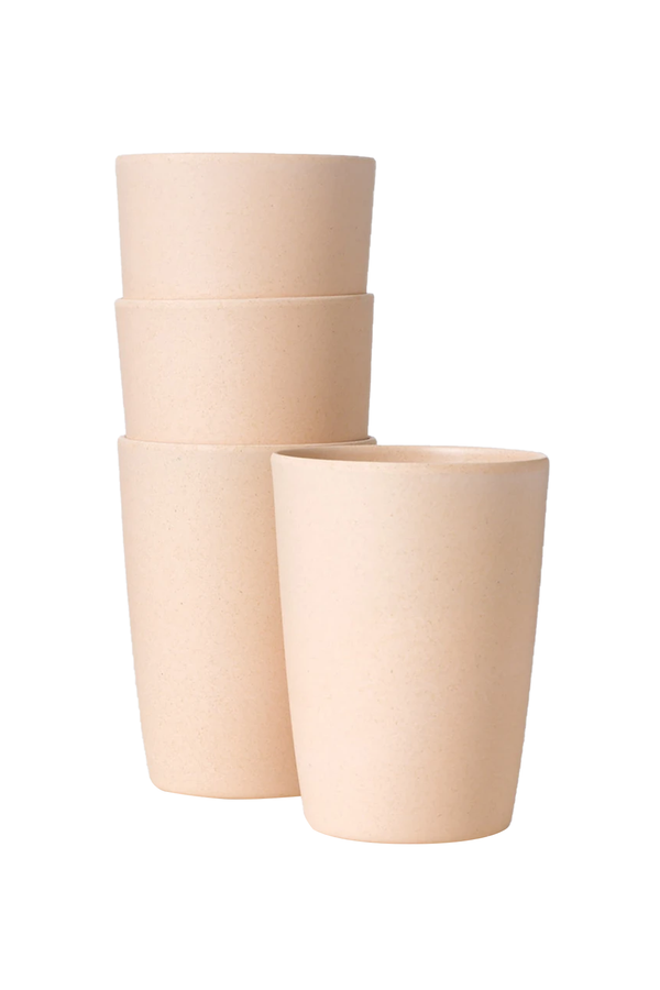 Set of 4 12oz Cups in Sun Rises | Fable NY
