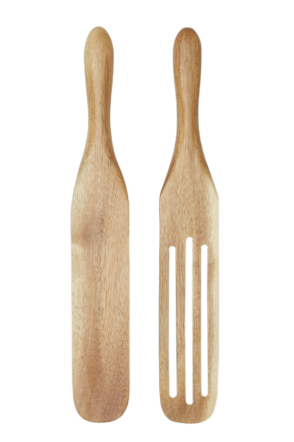 2-Piece Acacia Spurtle Set by Mad Hungry